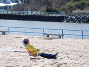 30th Apr 2017 - Cooler temps at the beach, taking a break from it all.