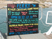 28th Apr 2017 - Ferry advert