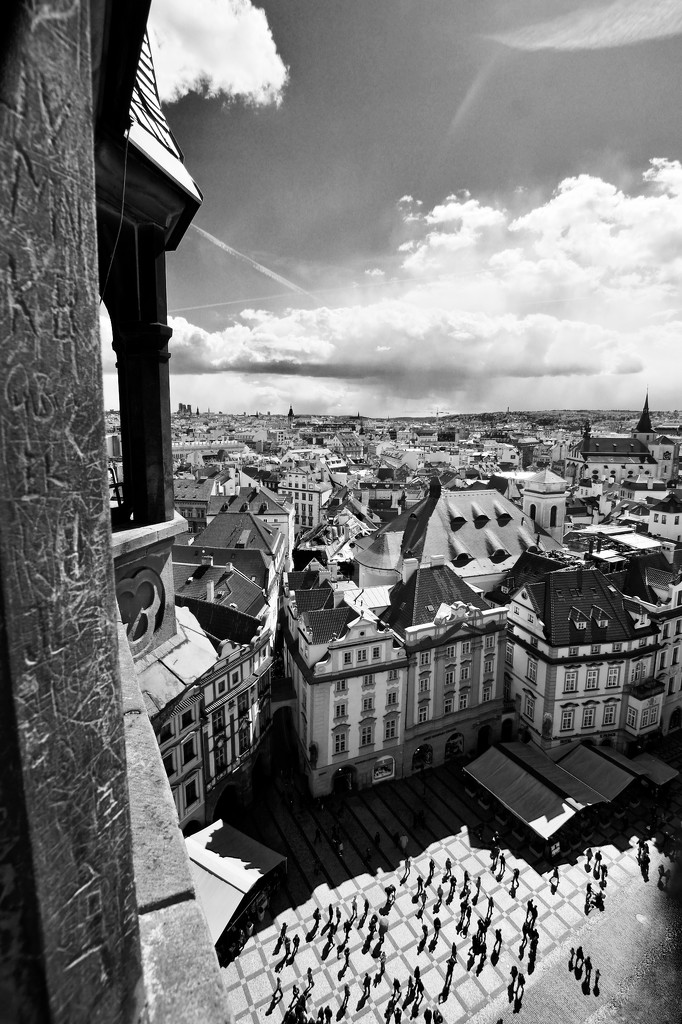 A sea of rooftops  by bmnorthernlight
