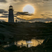 Sunset at Peggy's Cove by novab