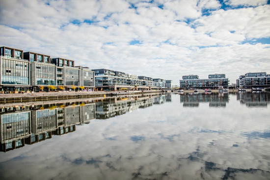 Kingston Foreshore Mirror Image  by nicolecampbell