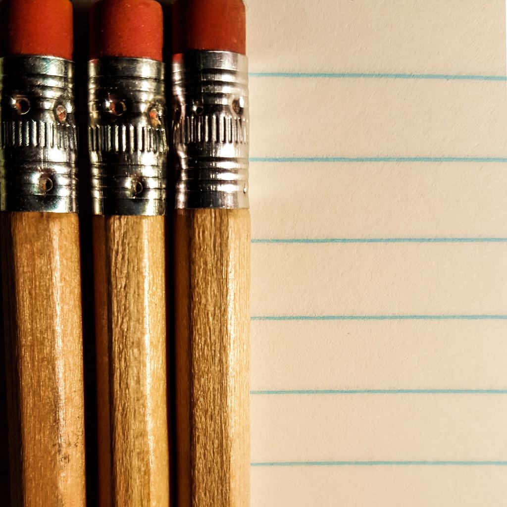 Pencils 'n paper by m2016