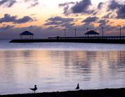 7th May 2017 - Sunrise over Wynnum jetty