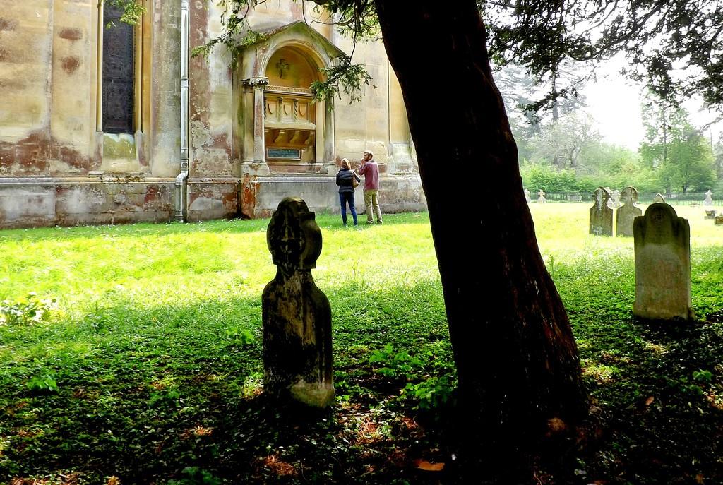Churchyard by ajisaac
