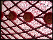 3rd May 2017 - Chinese design ceiling.  China Town Brisbane