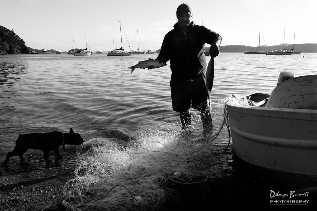 The fisherman by dkbarnett