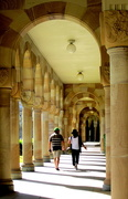 10th May 2017 - Walking the Archways of Queensland University