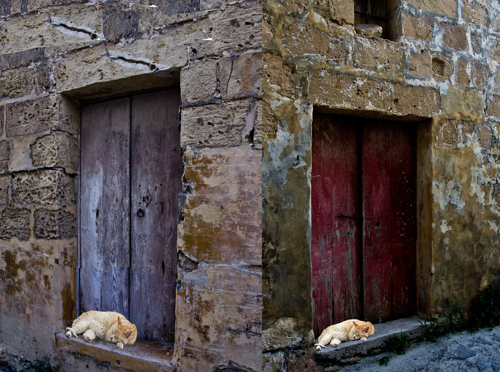 TWO OLD DOORS by sangwann