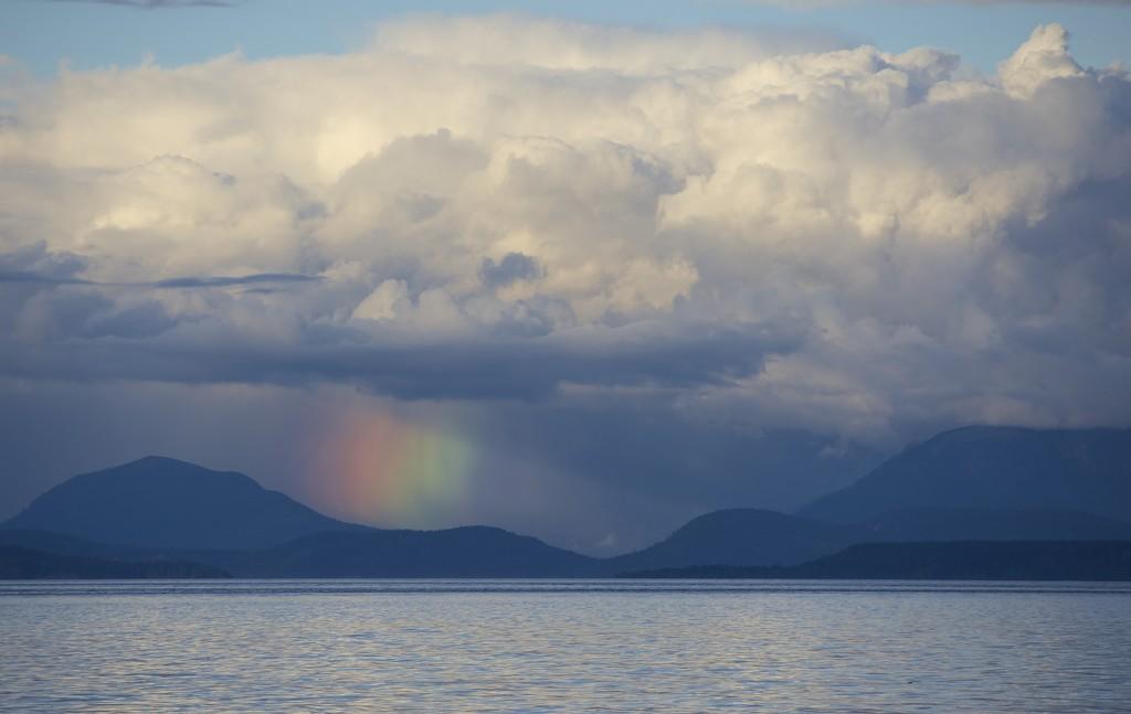 Vertical Rainbow by kwind