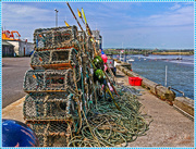 18th May 2017 - Lobster Pots,Amble Harbour