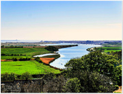 19th May 2017 - View From Warkworth Castle Looking Towards Amble And Coquet Island