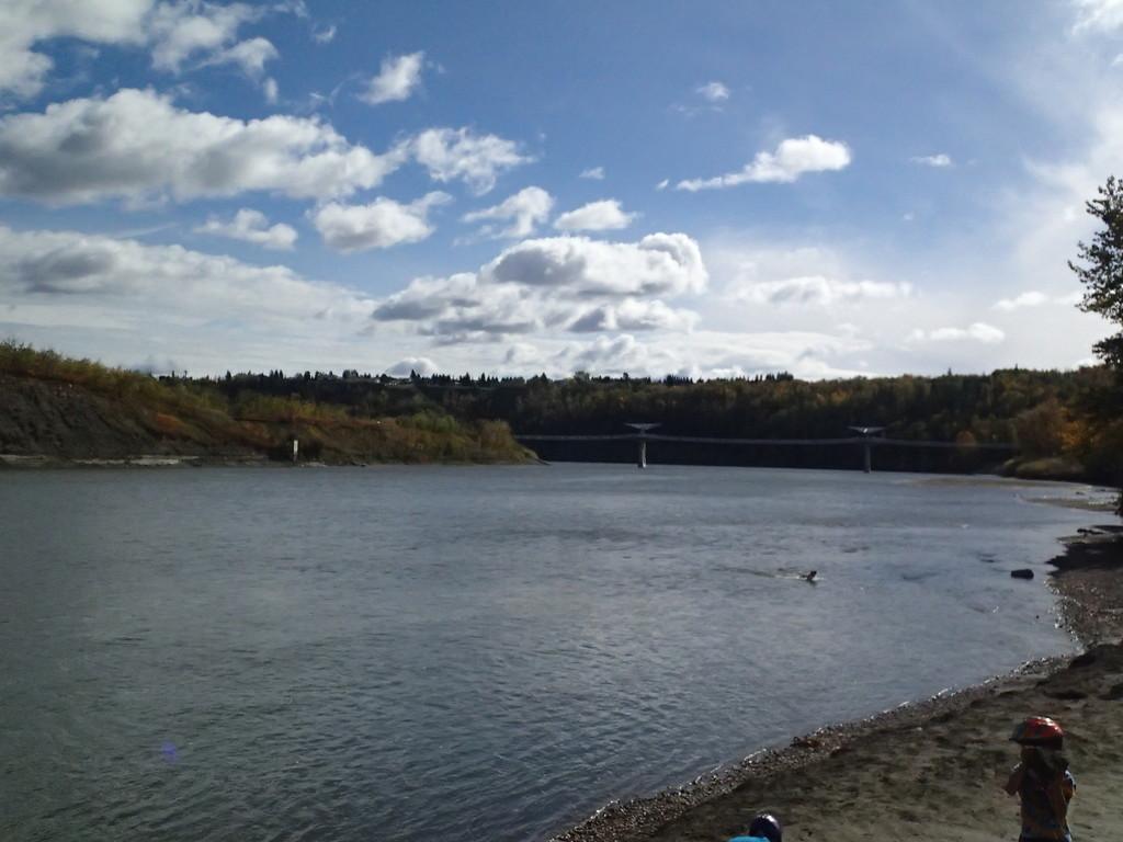 North Saskatchewan River at Terwillegar Park by schmidt
