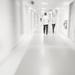 Hospital corridor by m2016