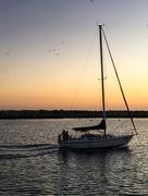 14th May 2017 - Sailboat at Sunset