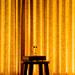 Golden curtains: inside