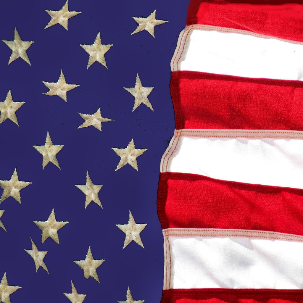 Stars and Stripes Forever. My Flag by grammyn