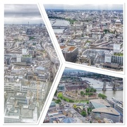 25th May 2017 - Views of London taken from the Sky Garden which is at the top of the walkie talkie building - and is free I may add!
