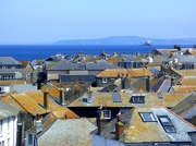 26th May 2017 - Over the rooftops to Godrevy