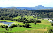 27th May 2017 - Dairyfarming country from the Range  SE Queensland
