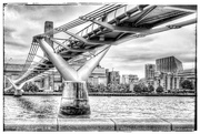27th May 2017 - The millennium bridge - thank you for your kind comments and faves on my London shots, very much appreciated