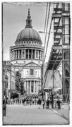 28th May 2017 - A glimpse of St Paul's Cathedral whilst walking the north embankment