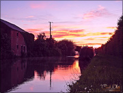 28th May 2017 - Canal Sunset
