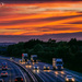 After Sunset on The M.1 by carolmw