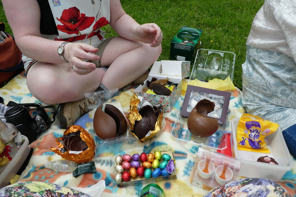 Easter Egg Picnic by anniesue
