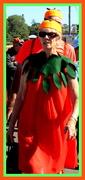 31st May 2017 - Mrs PUMPKIN  at the Pumpkin fair
