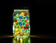 30th May 2017 - (Day 106) - Jar of Marbles