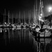 La Roche Bernard Inner Harbour at Night by vignouse