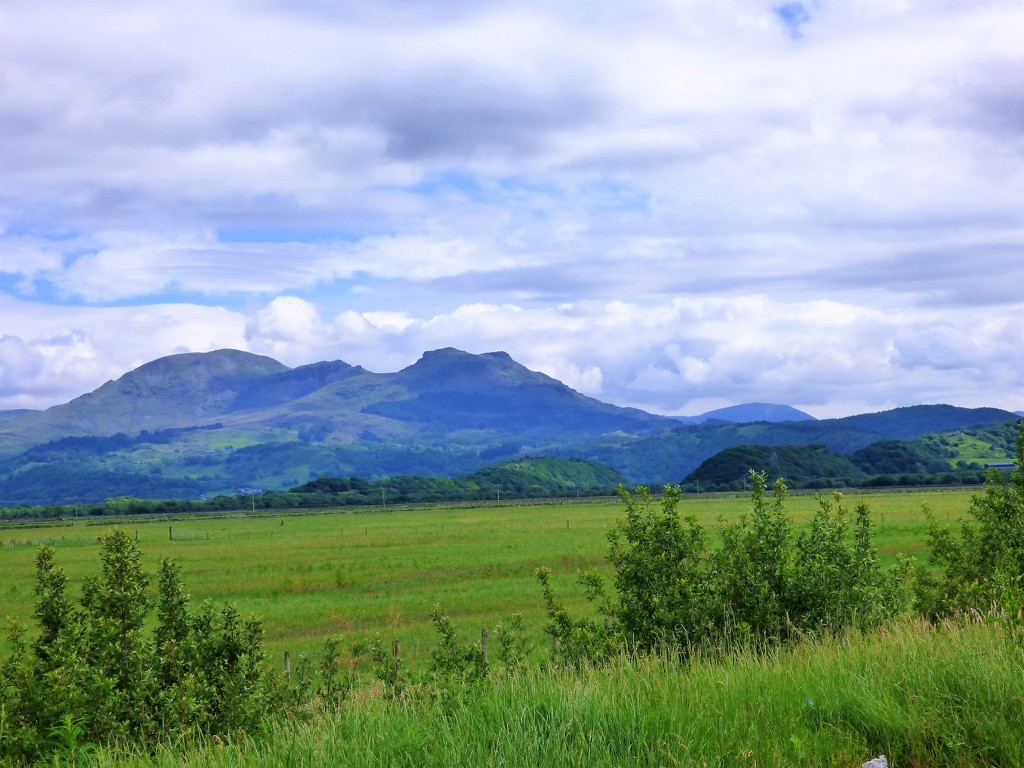 A last glance at Snowdonia  by beryl