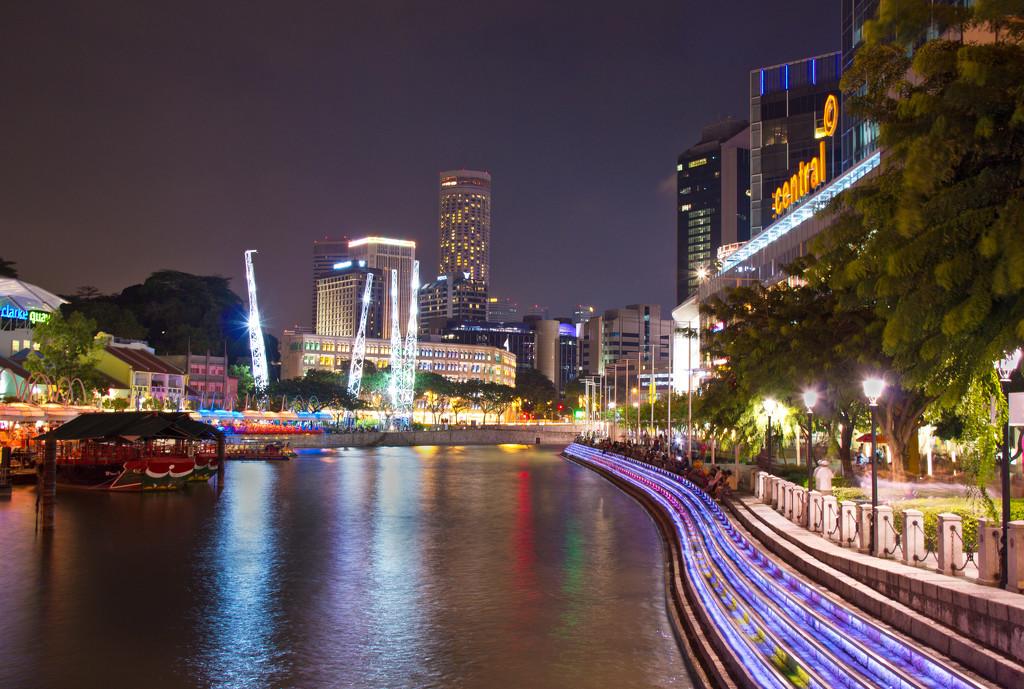 Clarke Quay, Singapore by golftragic