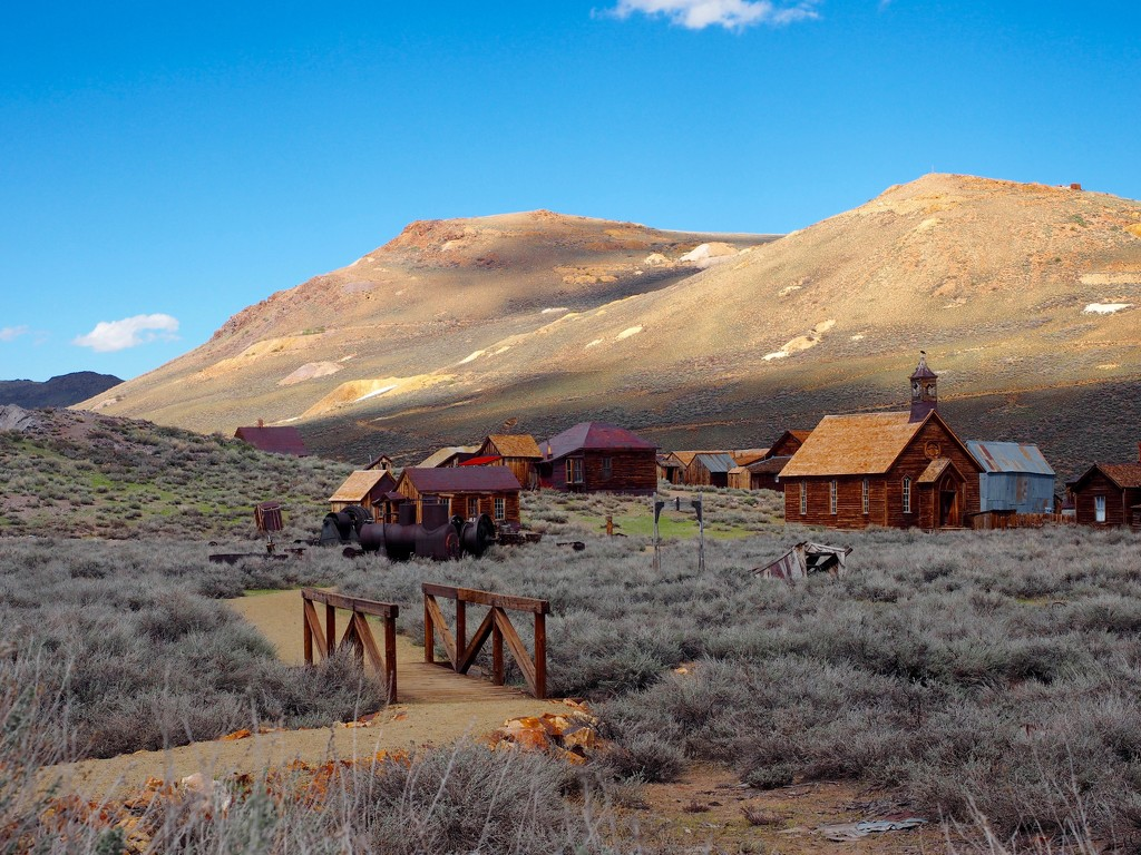 Bodie Ghost Town by redy4et