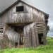 Old barn by mittens