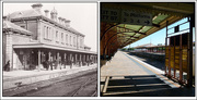 8th Jun 2017 - Newcastle Railway Station Then and Now