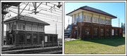 9th Jun 2017 - Newcastle Signal Box - Then and Now