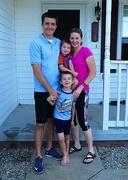 9th Jun 2017 - Christopher, Betsy, Isaac and Micah