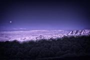 10th Jun 2017 - Moonset over Verde Valley