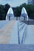 9th Jun 2017 - Riverside North: Approaching the foot bridge