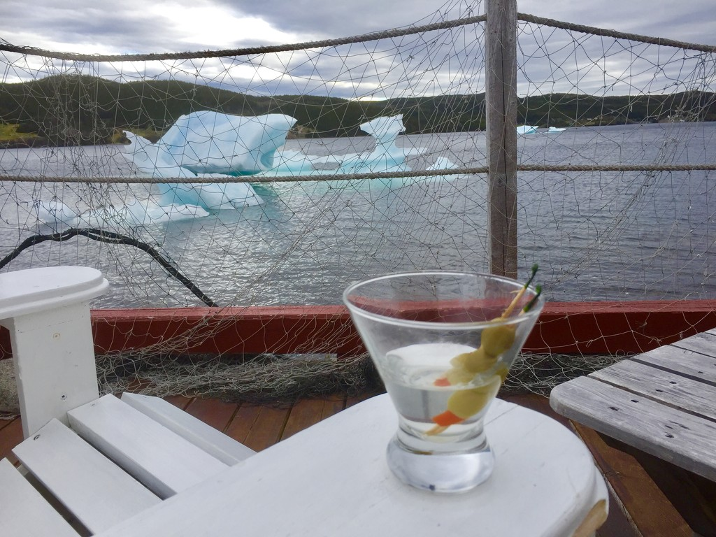 Would you like ice in your Martini madam? by pamknowler