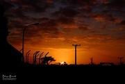 15th Jun 2017 - Sunrise with power poles