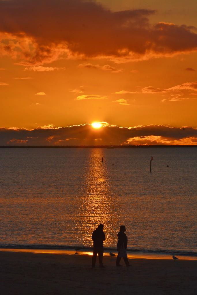 Fiery Sunset_DSC2647 by merrelyn