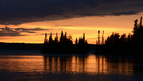 Sunset - Northern Ontario by jayberg
