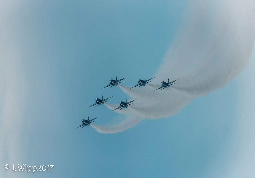 It's A Bird, It's A Plane, It's The Blue Angels Over Ocean City,Md. by lesip