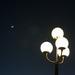 Moon, Star, Street Lights by yaorenliu