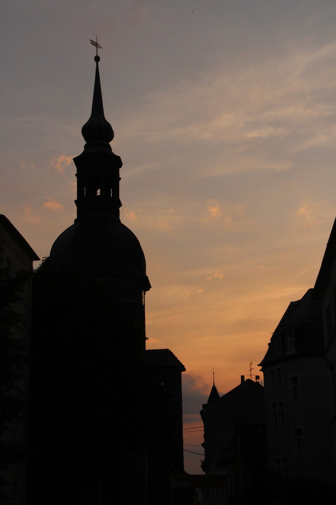 Church silhouette by busylady