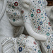 167 - Marble elephants encrusted with semi-precious stones by bob65