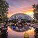Climatron at Sunset by rosiekerr