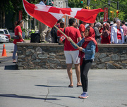 26th Jun 2017 - Celebrating our love for Canada together